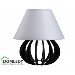 LAMPA STOŁOWA NOCNA NORA BLACK GREY 963