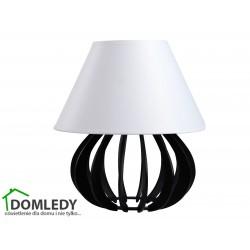 LAMPA STOŁOWA NOCNA NORA BLACK WHITE II 964