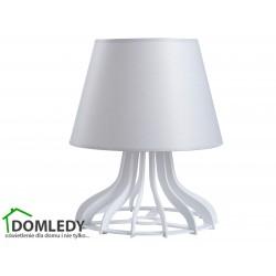 LAMPA STOŁOWA NOCNA LEA GREY 943