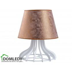 LAMPA STOŁOWA NOCNA LEA COPPER 946