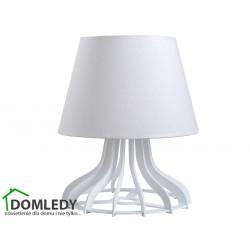 LAMPA STOŁOWA NOCNA LEA WHITE 947