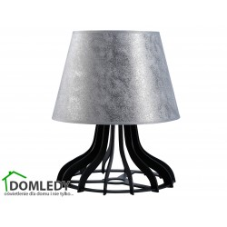 LAMPA STOŁOWA NOCNA IVO SILVER 949