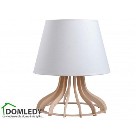 LAMPA STOŁOWA NOCNA IVONE WHITE 954