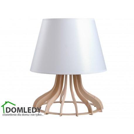 LAMPA STOŁOWA NOCNA IVONE WHITE II 955