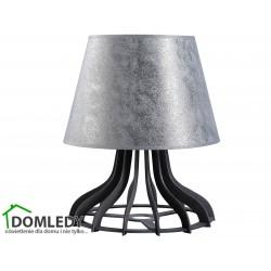 LAMPA STOŁOWA NOCNA LUCIO SILVER 960