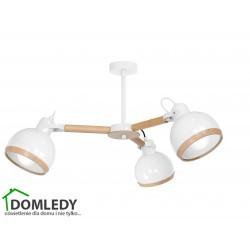LAMPA OVAL WHITE  3XE27 MLP8655