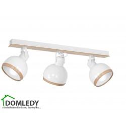 LAMPA OVAL WHITE  3XE27 MLP8651