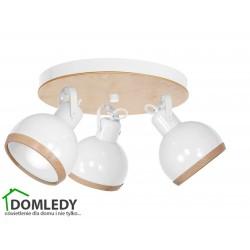 LAMPA OVAL WHITE  3XE27 MLP8652