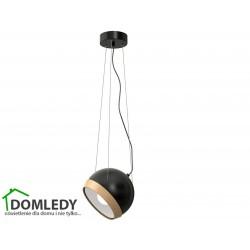 LAMPA OVAL BLACK 1XE27 MLP5471