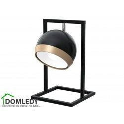 LAMPA STOŁOWA OVAL BLACK 1XE27 MLP5474