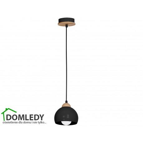 LAMPA WISZĄCA DAMA BLACK 1xE27 MLP6540