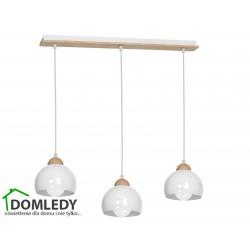 LAMPA WISZĄCA DAMA WHITE 3xE27 MLP6450