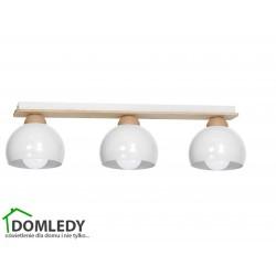 LAMPA SUFITOWA DAMA WHITE 3xE27 MLP6460