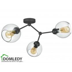 LAMPA SUFITOWA FAIRY GRAFITOWA 4372
