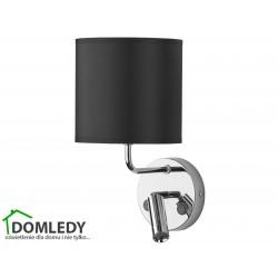 LAMPA KINKIET ENZO CZARNY-CHROM 4232