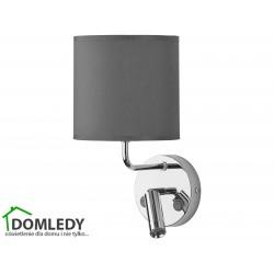 LAMPA KINKIET ENZO GRAFIT-CHROM 4231