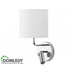 LAMPA KINKIET ENZO BIAŁY-CHROM 4233