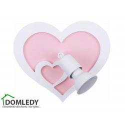 LAMPA KINKIET HEART I 9062