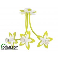 LAMPA SUFITOWA FLOWERS GREEN III 6898