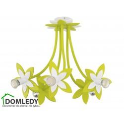 LAMPA SUFITOWA FLOWERS GREEN V 6901