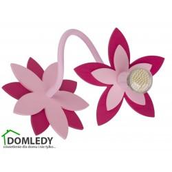 LAMPA KINKIET FLOWERS PINK I 6893