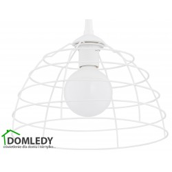 LAMPA ZWIS SUFITOWY DON WHITE 146