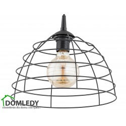 LAMPA ZWIS SUFITOWY DON BLACK 147