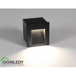 LAMPA OPRAWA WPUSZCZANA ZEWNĘTRZNA STEP LED GRAPHITE 6907
