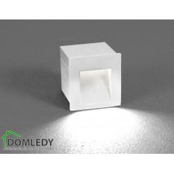 LAMPA OPRAWA WPUSZCZANA ZEWNĘTRZNA STEP LED WHITE 6908