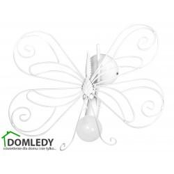 MILAGRO LAMPA KINKIET MOTYL 2 WHITE 1xE27  MLP5331