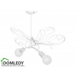 MILAGRO LAMPA MOTYL 2 WHITE 2xE27 MLP5332