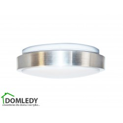 PLAFON LED 24W 4000K SREBRNY IP44