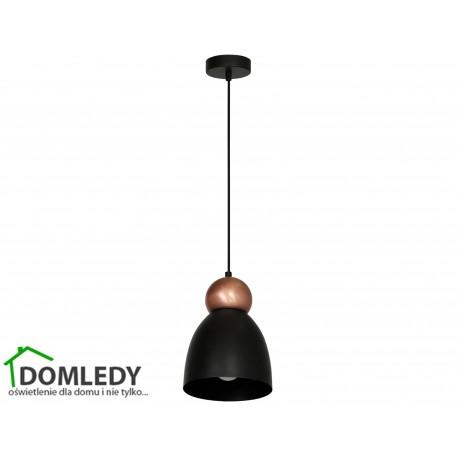 MILAGRO LAMPA WISZĄCA TAURUS BLACK 3774