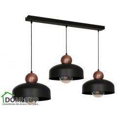 MILAGRO LAMPA WISZĄCA HARALD BLACK 3773