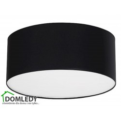 MILAGRO LAMPA SUFITOWA BARI BLACK 4694