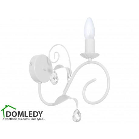 MILAGRO LAMPA KINKIET MIA WHITE 1065