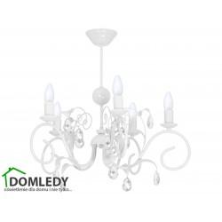 MILAGRO LAMPA SUFITOWA MIA WHITE 1067