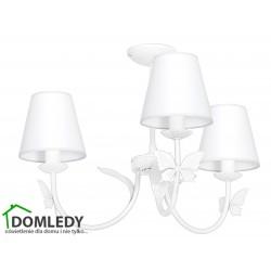 MILAGRO LAMPA SUFITOWA ALICE WHITE 960