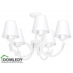 MILAGRO LAMPA SUFITOWA ALICE WHITE 961