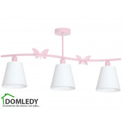 MILAGRO LAMPA SUFITOWA ALICE PINK 979