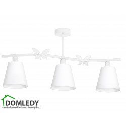 MILAGRO LAMPA SUFITOWA ALICE WHITE 978