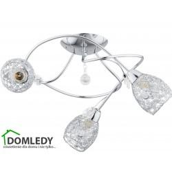 LAMPA SUFITOWA CRYSTAL TWISTER 204