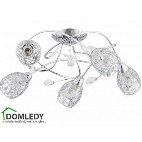 LAMPA SUFITOWA CRYSTAL TWISTER 206